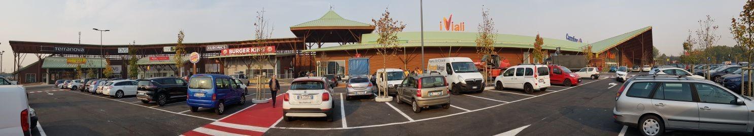 Supermercato in legno